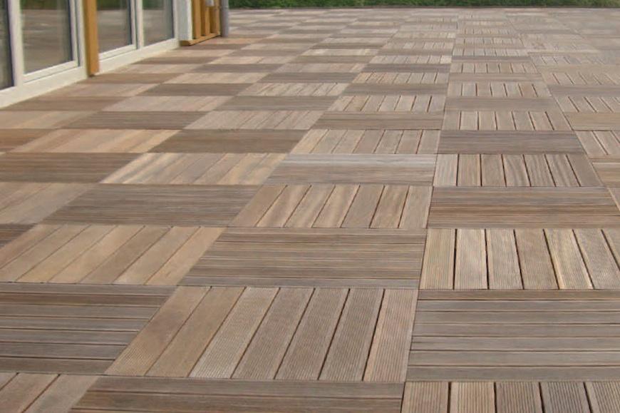 Pavimenti in legno per esterno - Pavimento da esterno carrabile ...
